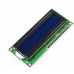 16x2 Character LCD Display w/ 1602 HD44780 Module - Blue Backlight
