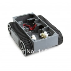 Tank Robot Chassis with Tracks for Robot or RC Tank