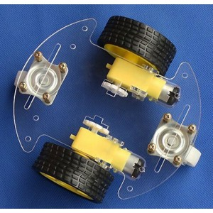 Round Robot Chassis